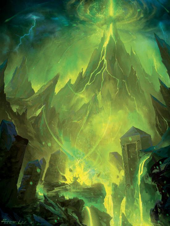 Гул'дан уничтожает единую мощь стихий Дренора
